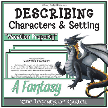 Short Fantasy Story for Reading Comprehension-Describing Characters and Setting