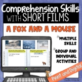 Short Film   A Fox and A Mouse   Comprehension Skills   Pr