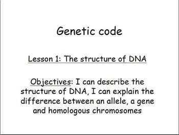 Short Genetics Presentation