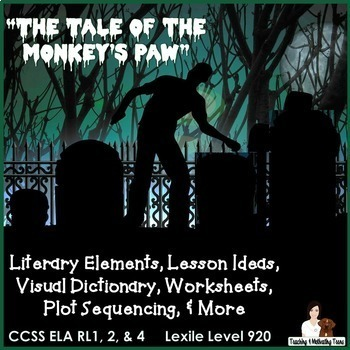 Short Horror Stories Bundle - The Monkey's Paw, Cask of Amontillado, From Beyond