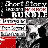 Short Horror Stories Lesson Bundle   ELA