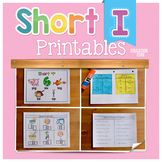 Short I Activities| Short I Worksheets