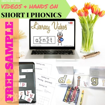 Short I Complete Phonics Spelling Unit for Multiple Learning Styles