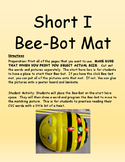 Short I Bee-Bot Mat