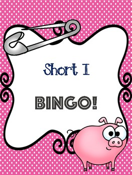 Short I Bingo [10 playing cards]