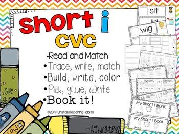 Short I CVC - 5 Interactive Activities