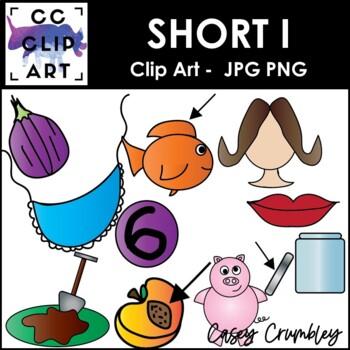 Short I CVC Clip Art Images