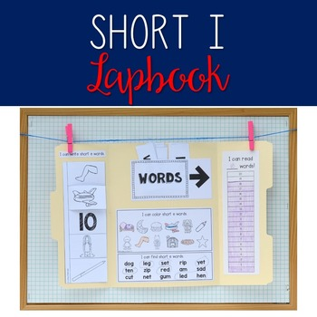Short I/CVC Lapbook