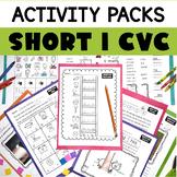 Short I CVC Printable Activity Pack