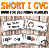 Short I CVC Printables - A Book for Reading and Writing