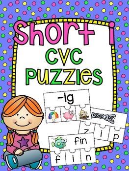 Short I CVC Center Puzzles