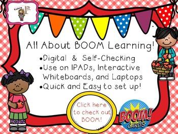 Short I CVC Read & Click Boom Task Cards!