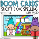 Short I CVC Spelling Boom Cards™ for Distance Learning