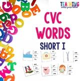 Short I CVC Word Activities