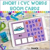 Short I CVC Word Boom Cards | Digital Literacy Activities