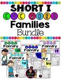 Short I CVC Word Families Worksheets