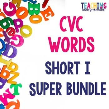 Short I CVC Words Super Bundle
