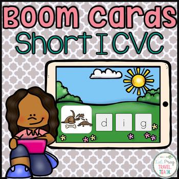 Short I CVC for Boom Cards
