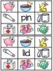 Short I Clip Cards Centers