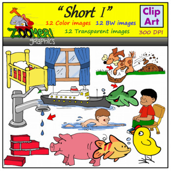 Short I Clipart