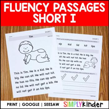 Short I Comprehension Passages