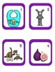 Short I CvC SCOOT Game- 24 CvC Word Cards PLUS 4 different recording sheets