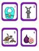 Short I CvC SCOOT Game- 24 CvC Word Cards PLUS 4 different