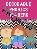 Short I Decodable Phonics Reader