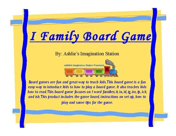 Short I Family Board Game