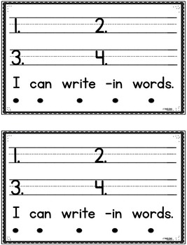 Short I Family Emergent Readers (Interactive)