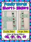 Short I- Family Words- Single & Double Sliders (IG, IP, IN, IT)