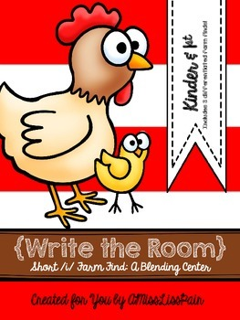 {Write the Room: Short /i/ Farm Find}
