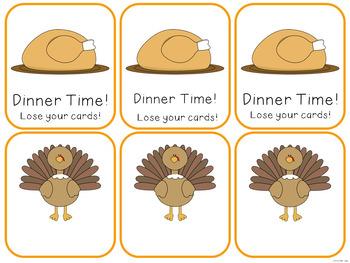 Short I Fluency Game! {Thanksgiving Theme}