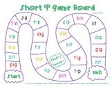 Short I Game Boards (CVC Words)