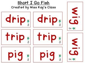 Short I Go Fish - CVC - CCVC