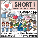 Short I Letter Sounds Clipart by Clipart That Cares