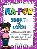 Short I & Long I (VCe) Kapow Literacy Center / Game