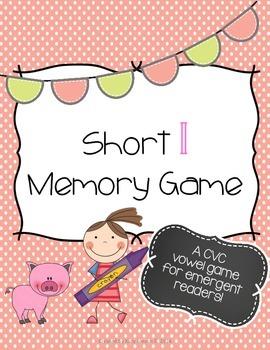 Short I Memory Game