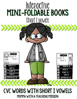 Short I Mini Flip Book Foldable