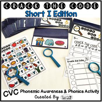Short I Phonemic Awareness & Phonics Activity - Crack the Code