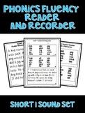 Short I - Phonics Fluency Assessment