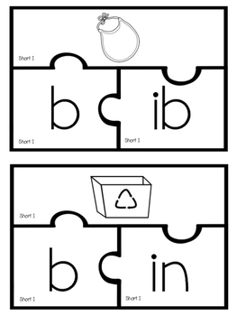 Short I Puzzles (Color & BW)