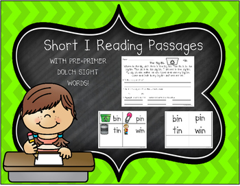 Short Vowel I Reading Passages