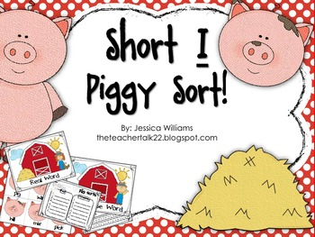 Short I Sort Station with Pigs