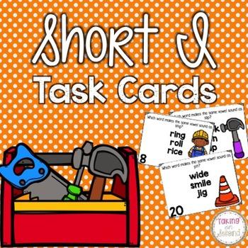 Short I Task Cards