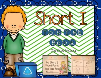 Short 'I' Top Tab Book