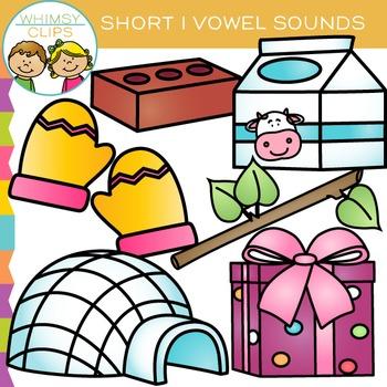 Short I Vowel Clip Art