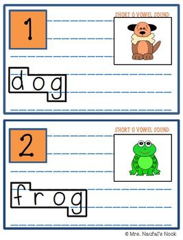 Read the Room Short Vowel O