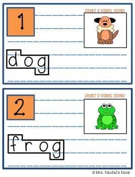 Read the Room Alphabet Short Vowel O