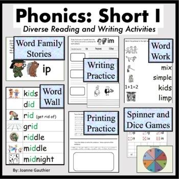 Short I Word Families: Phonics and Writing Fundamentals